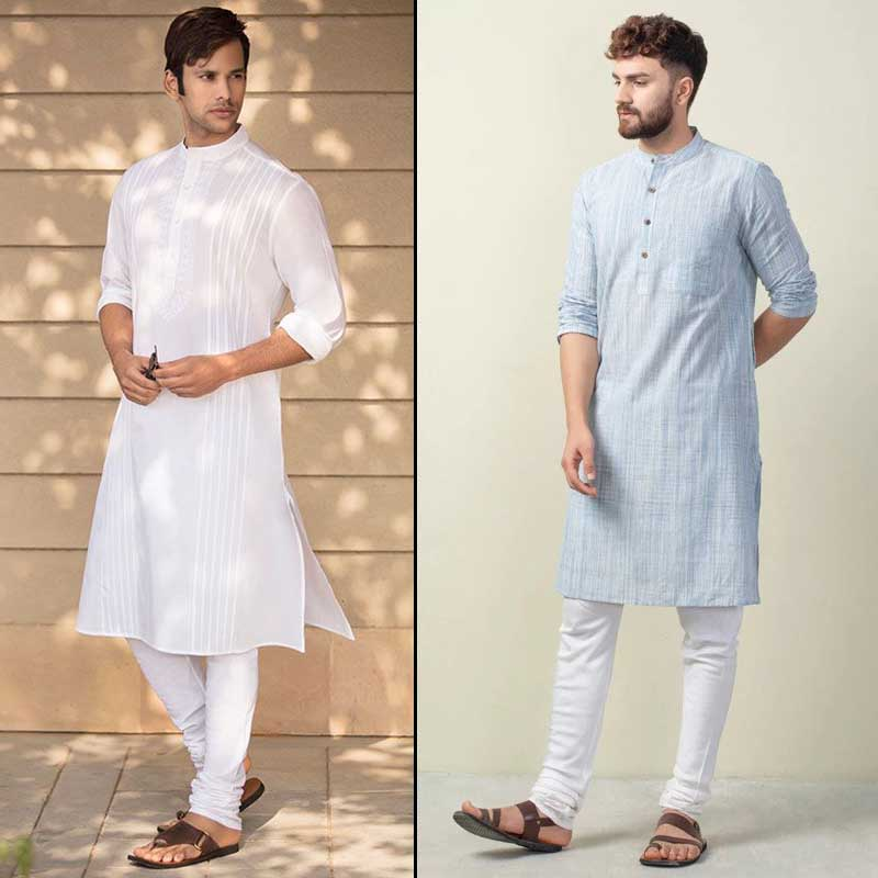 What male tourist should wear when visit India In Summers