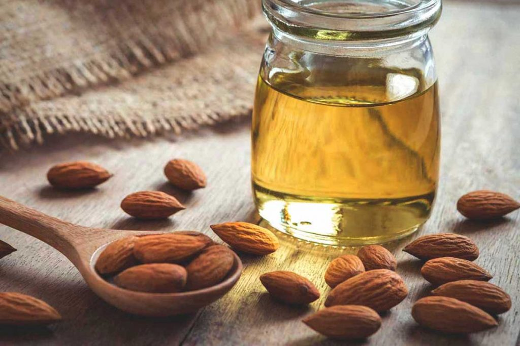 Almond Oil Massage Is Good To Remove Spectacle Marks