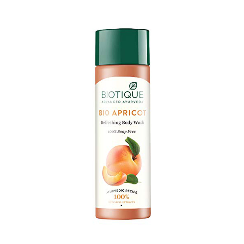 Best Body Washes For Indian Men - Biotique Bio Apricot Refreshing Body Wash