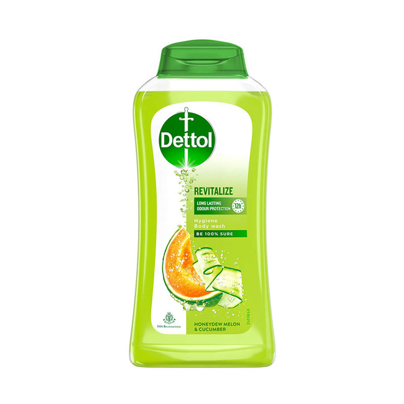 Best Body Washes For Indian Men - Dettol Body Wash and Shower Gel, Revitalize