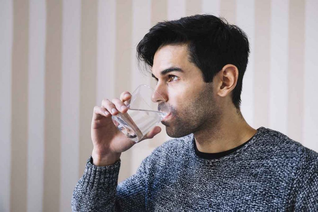 Drinking Lot Of Water Prevents For Getting Bad Breath
