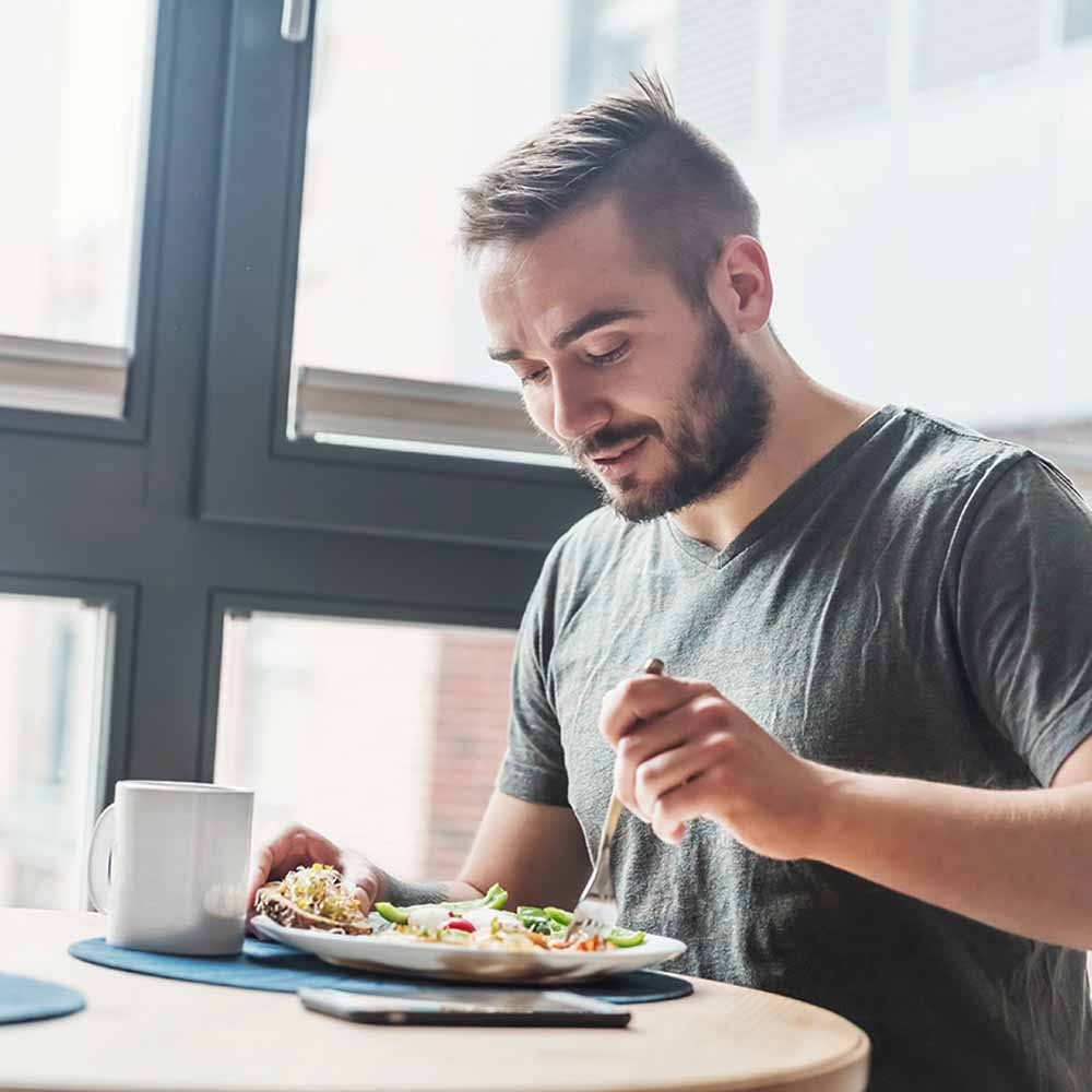 Eating Healthy Helps To Reduce Face Fat