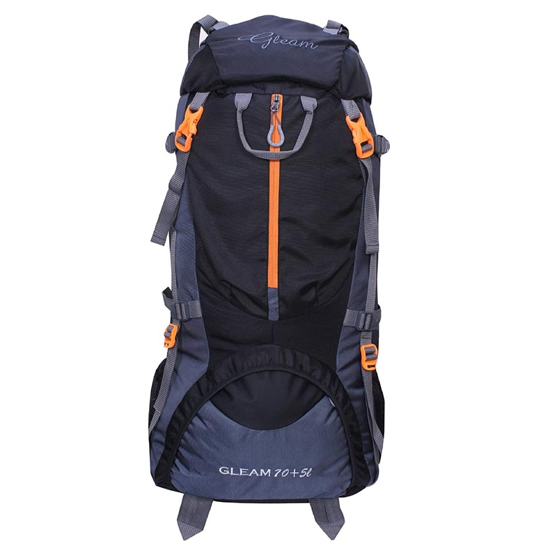 best travel backpacks for hiking  - Gleam 0109 Climate Proof Mountain Rucksack 75 Ltrs