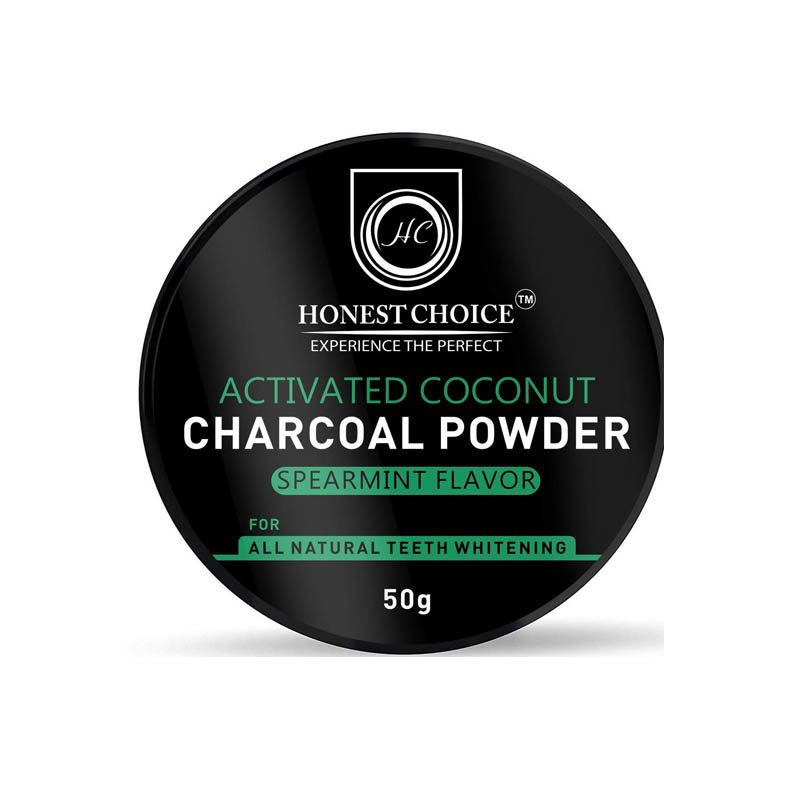 Honest Choice Activated Charcoal Powder for Teeth Whitening