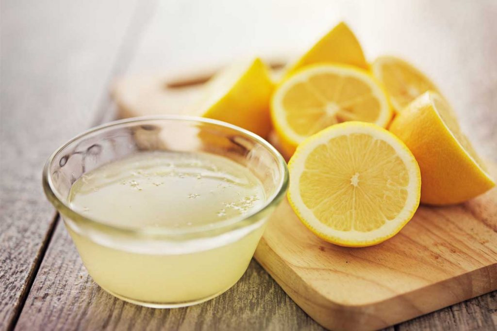 Lemon Juice Helps To Remove Under Eye And Nose Marks For Men