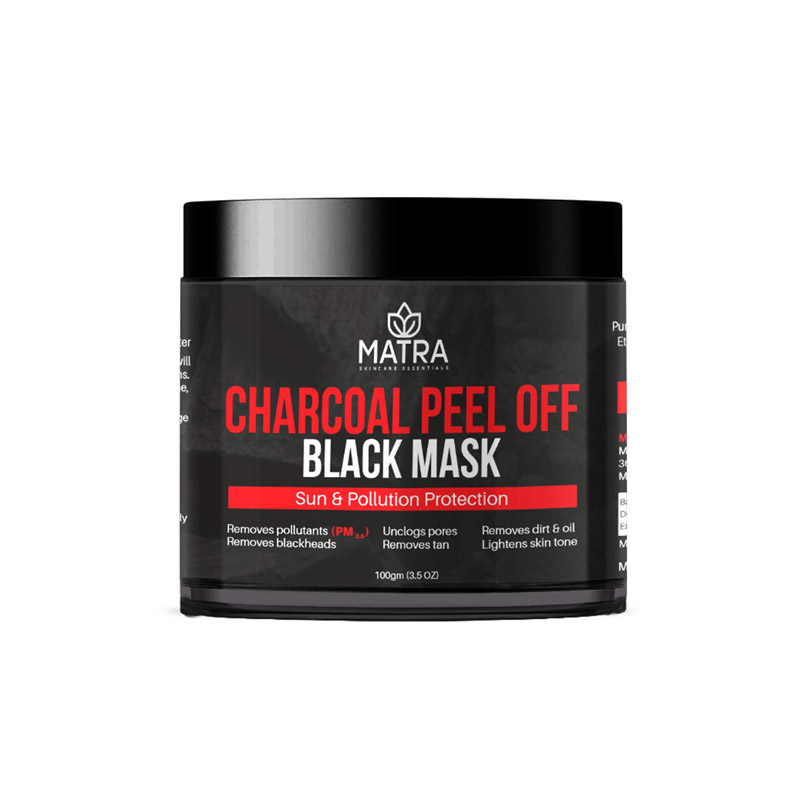 Matra Activated Charcoal Peel Off Mask