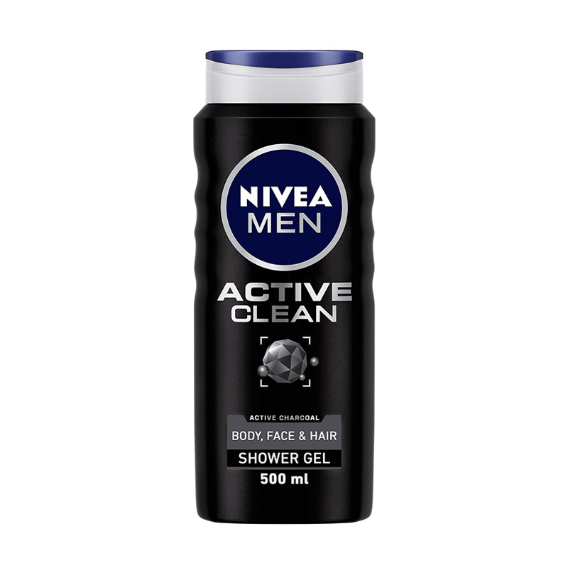 Best Body Washes For Indian Men - NIVEA Shower Gel Active Clean Body Wash