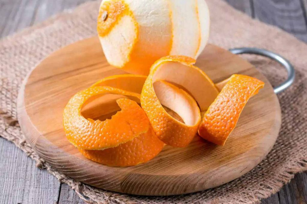 Orange Peel Helps To Remove Under Eye And Nose Marks