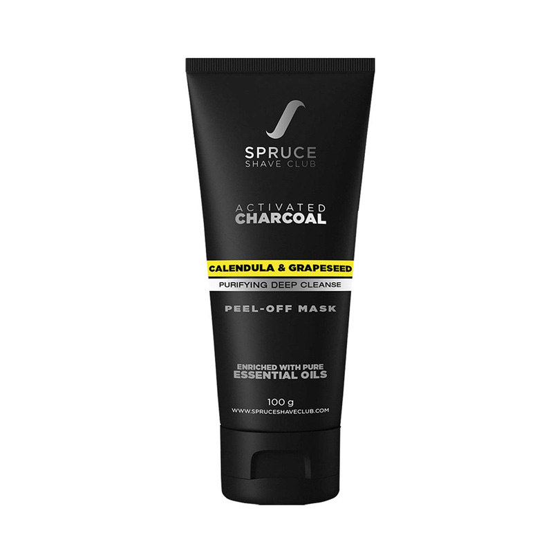 blackhead removal peel-off masks for Indian men - Spruce Shave Club Charcoal Peel Off Mask For Blackhead
