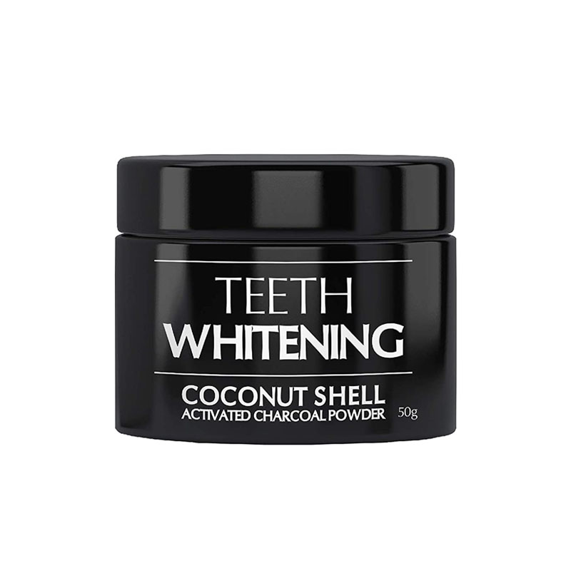 The Beauty Co Coconut Shell Activated Charcoal Instant Teeth Whitening Powder