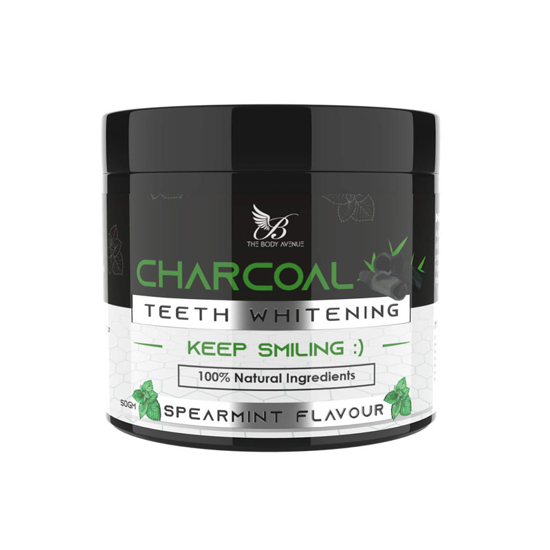 The Body Avenue Activated Charcoal Teeth Whitening Powder