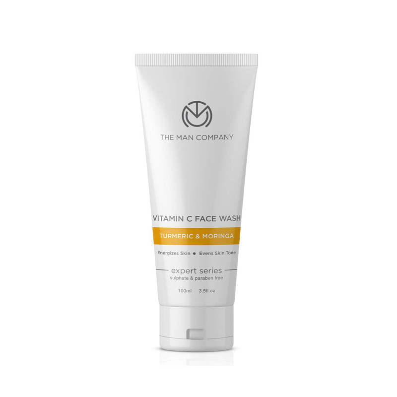 The Man Company Vitamin C Face Wash for Skin Brightening and Anti Ageing