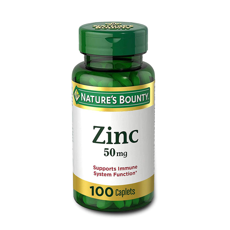 Zinc helps to reduce forehead acne in men