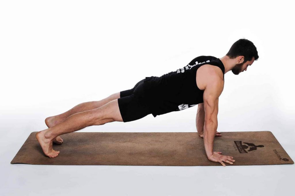 High Plank - Best Exercises To Improve Body Posture In Men