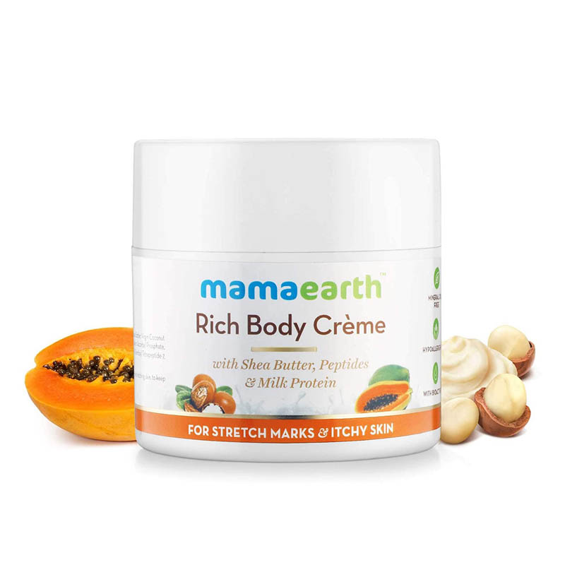 Mamaearth Stretch Marks Cream To Reduce Stretch Marks & Scars