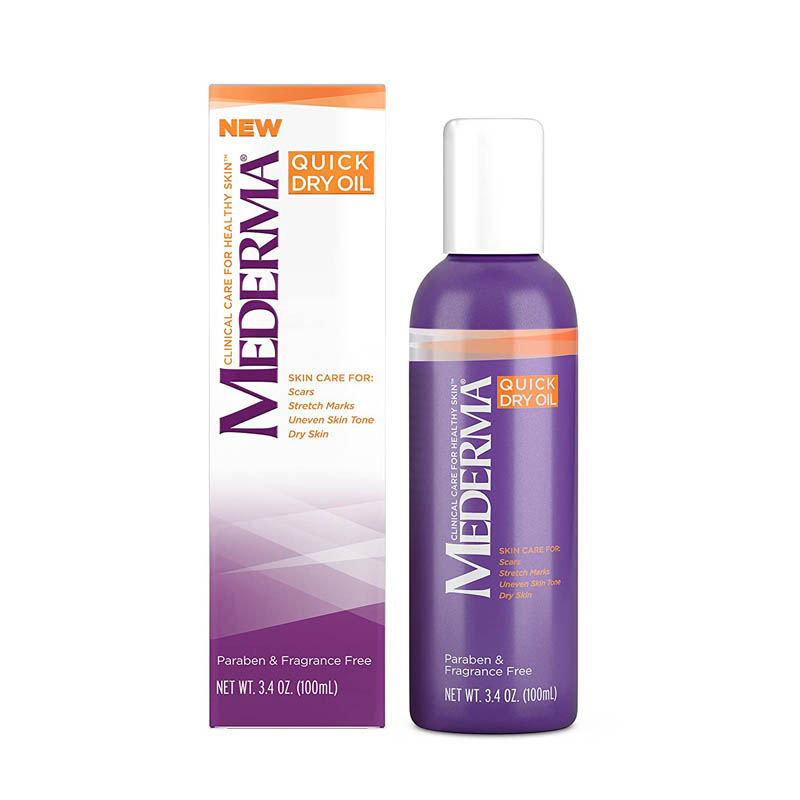 best stretch marks removal creams for men - Mederma Skin Care Quick Dry Oil for Stretch Marks