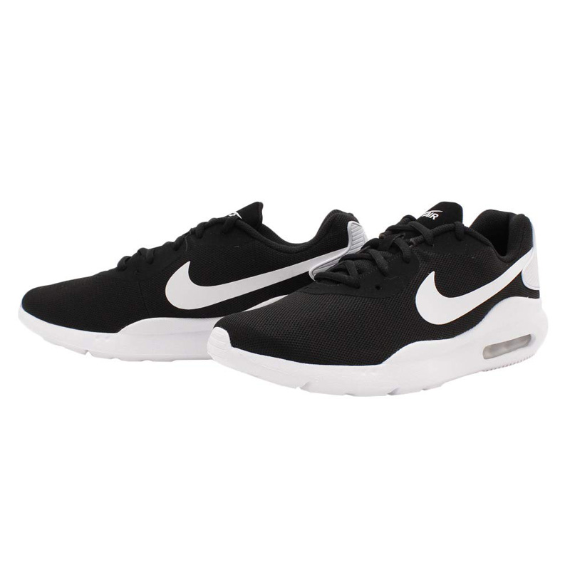 Nike Men's Air Max Oketo Black White Running Shoes