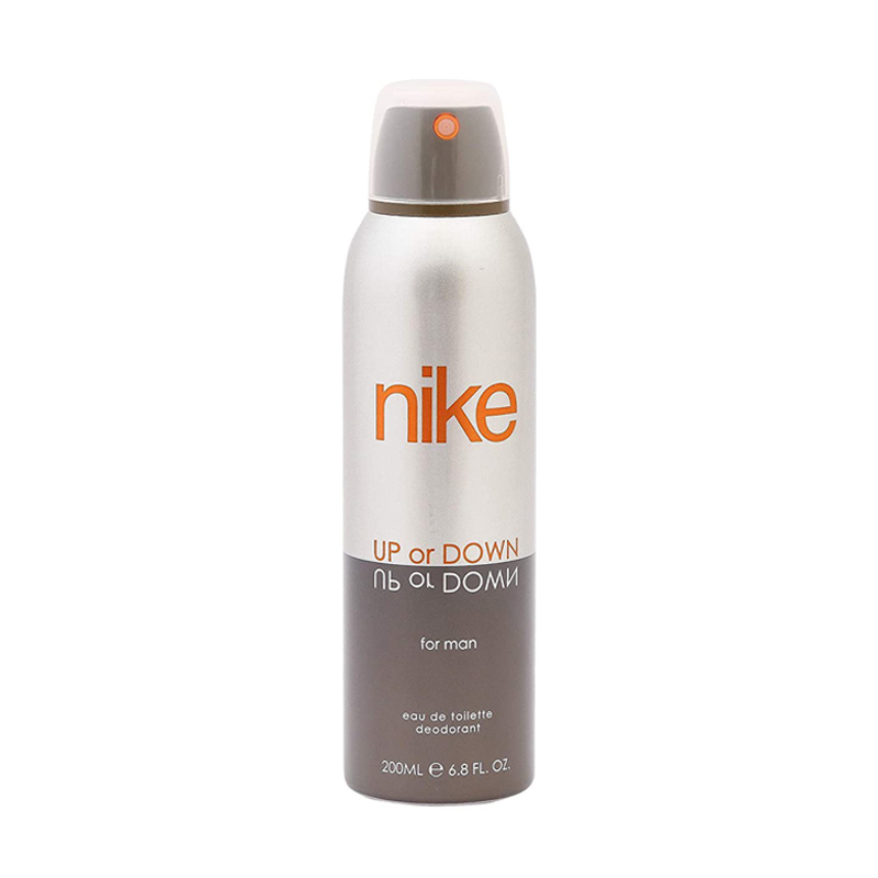 Nike Up Or Down Silver Deo For Men