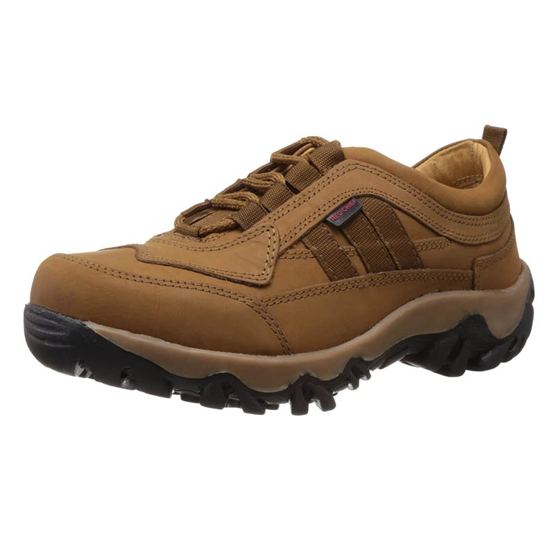 Redchief Men's Leather Trekking and Hiking Footwear