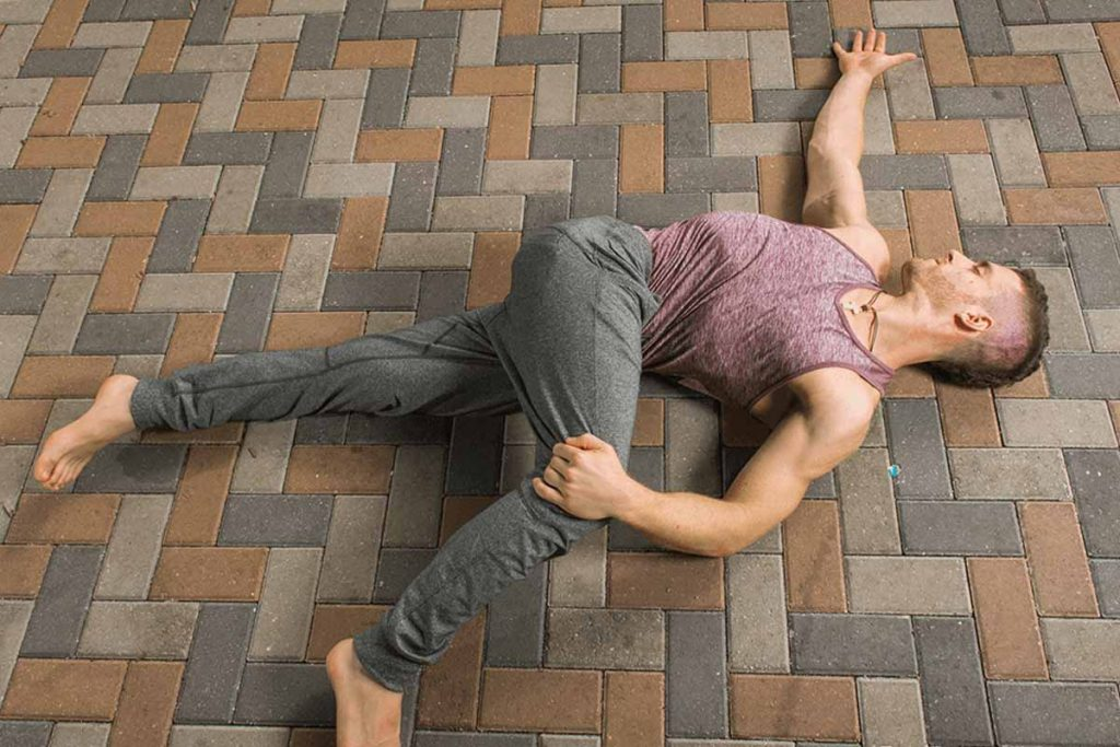 Thoracic spine twist exercise is best to get a good body posture