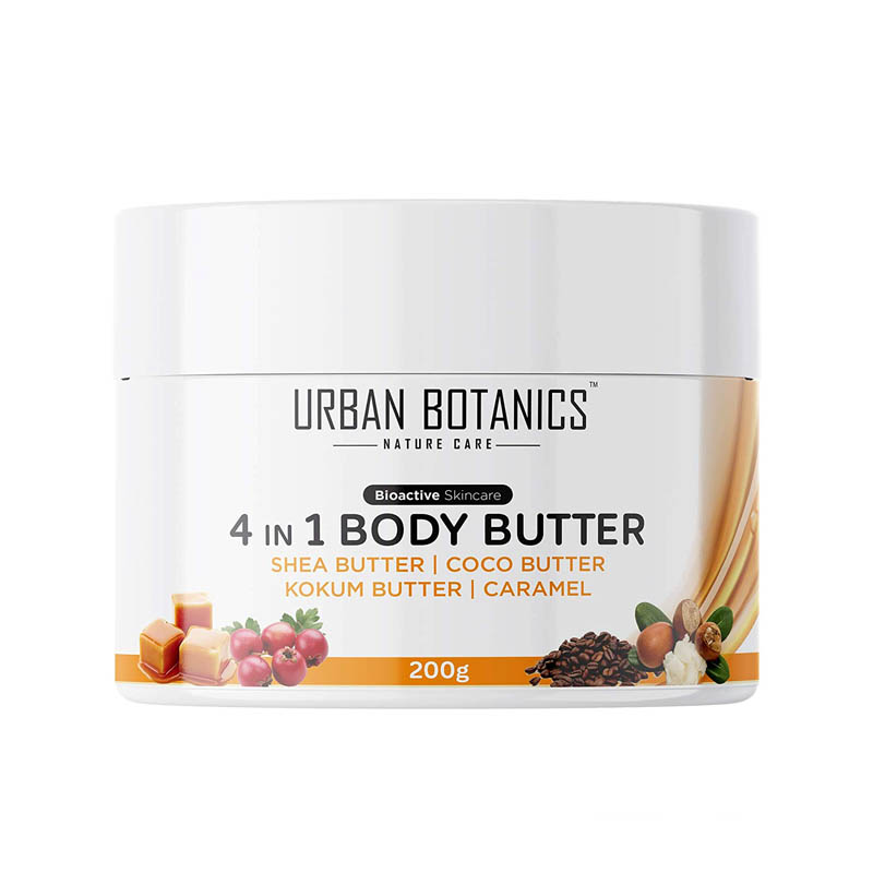 Urban Botanics 4 in1 Body Butter For Itchy Skin & Stretch Marks