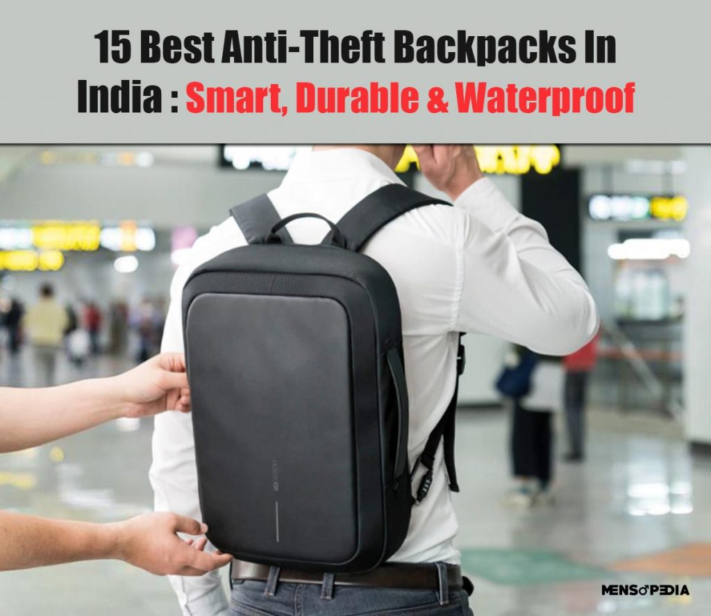 15 Best Anti-Theft Laptop Backpacks In India
