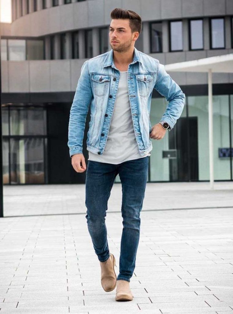 Boys Jeans Fashion In College