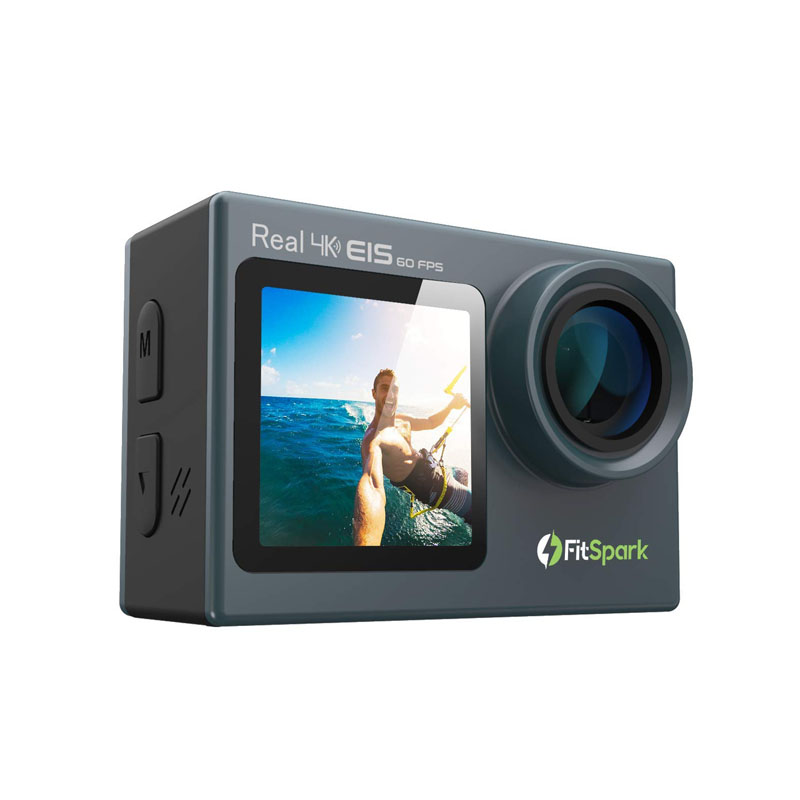 FitSpark EAGLE iMAX Dual Screen Real 4K WiFi Action Camera