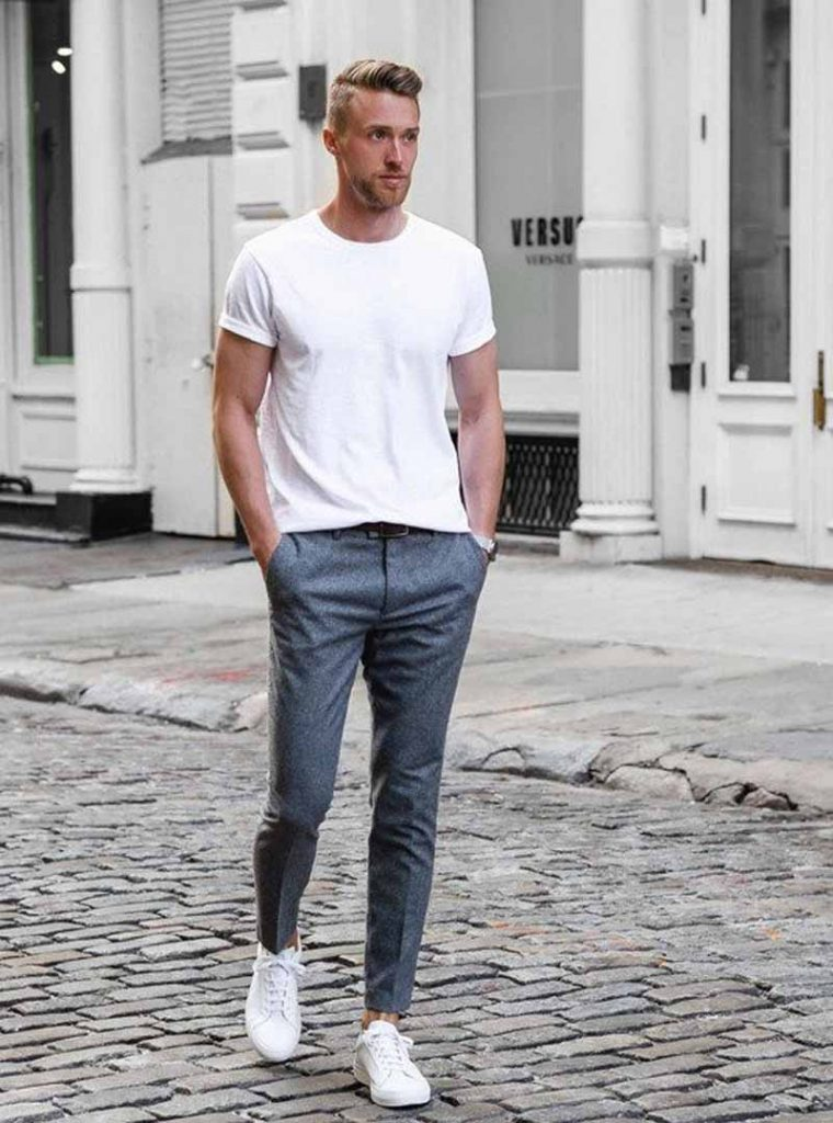 How To Style A T-shirt At College