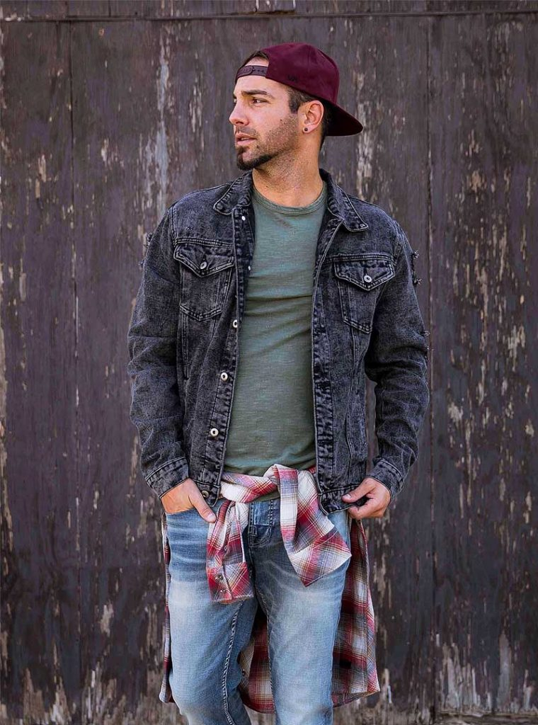 Mens Layered Fashion For College In Summers