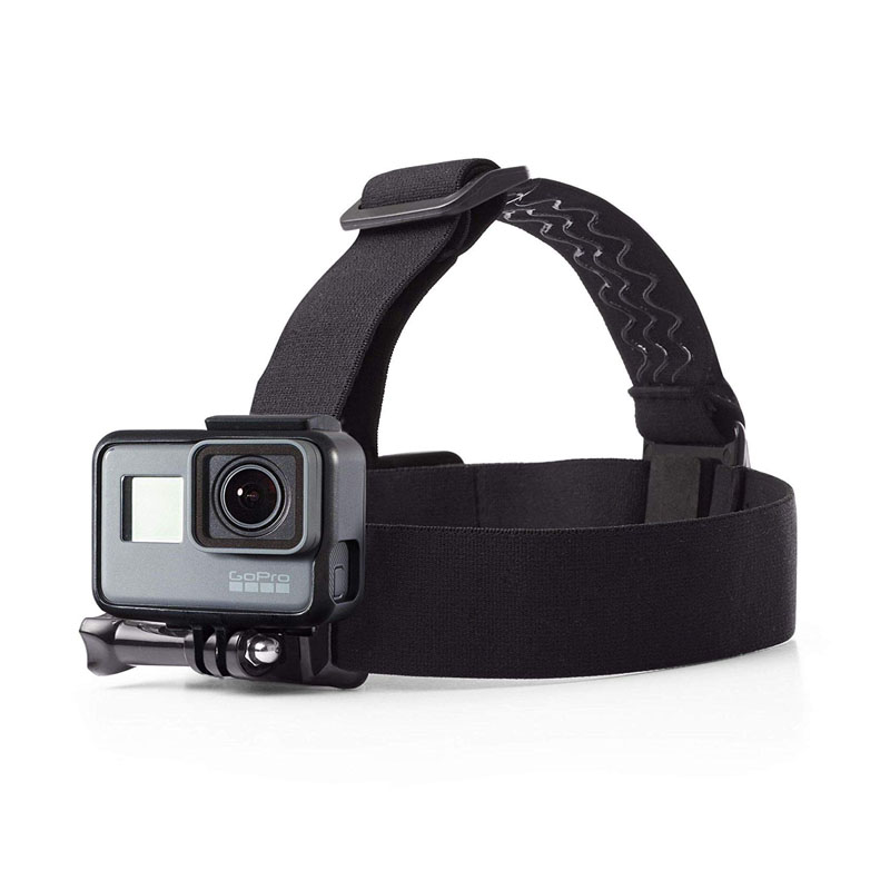 Techlife Solutions Head Strap Camera Mount For All Action Cameras