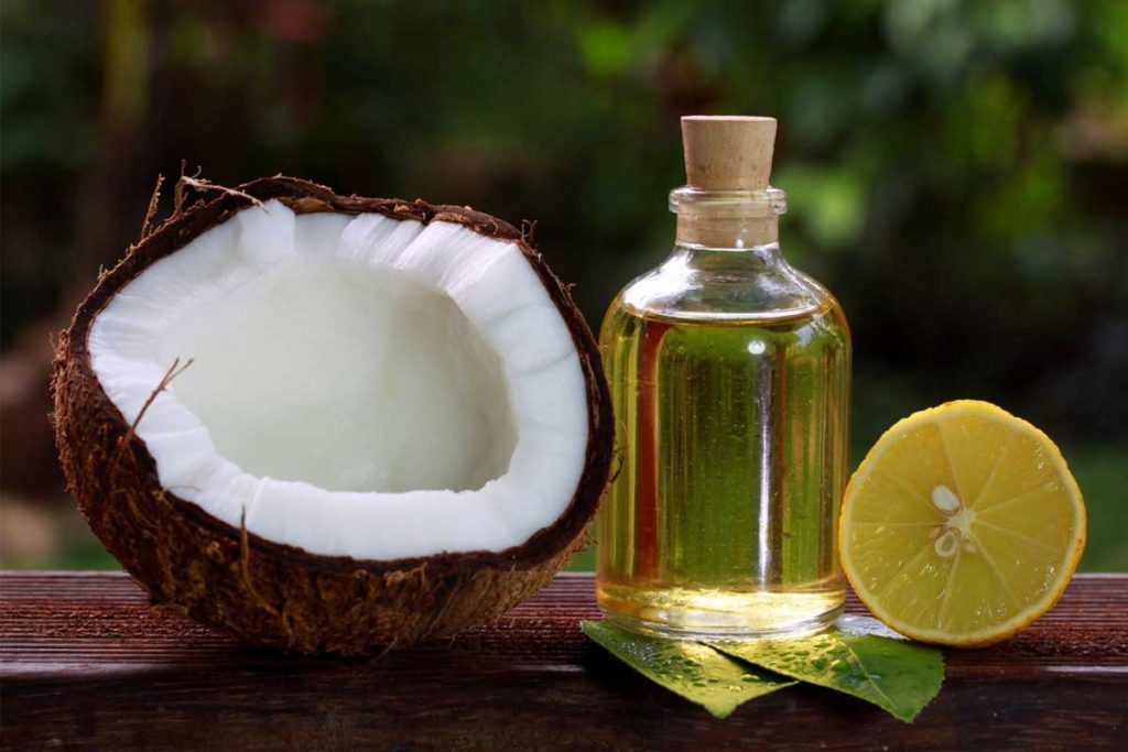 Coconut Oil And Lemon Remedy To Turn White Hair Into Black