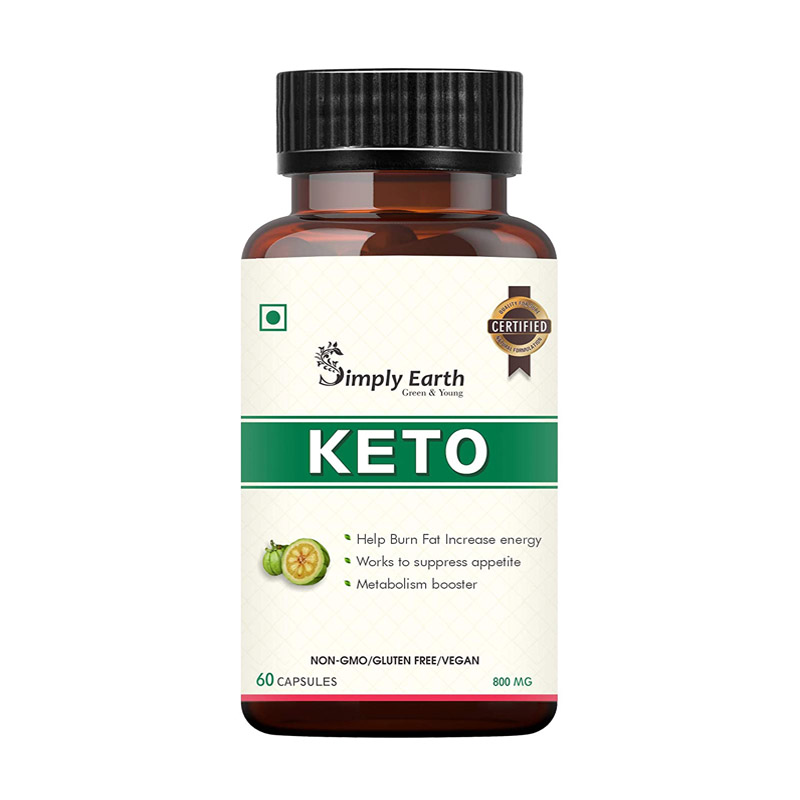 Simply Earth Keto Natural Weight Loss Supplement For Men