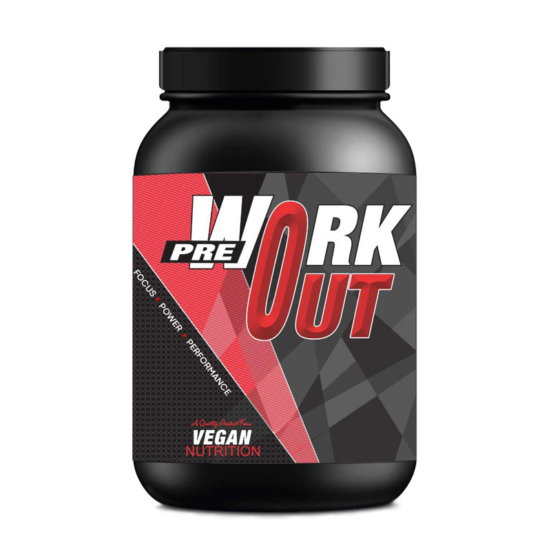 Best Pre-workout supplement for Vegans in India