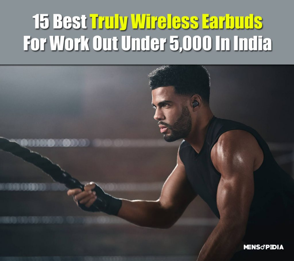 Best truly wireless earbuds for gym work out in India