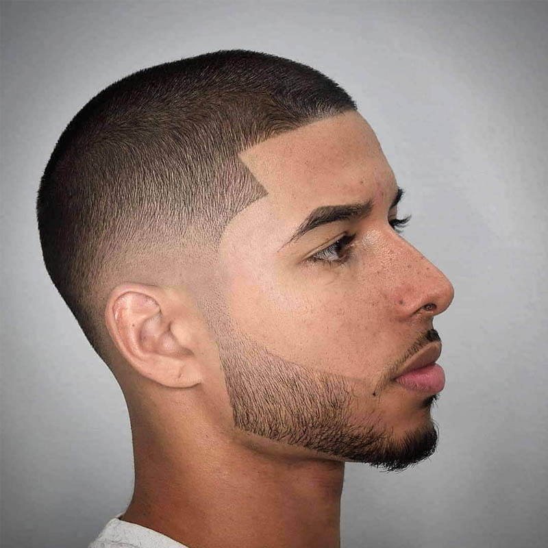 Best date night hairstyles for men - Buzz Cut