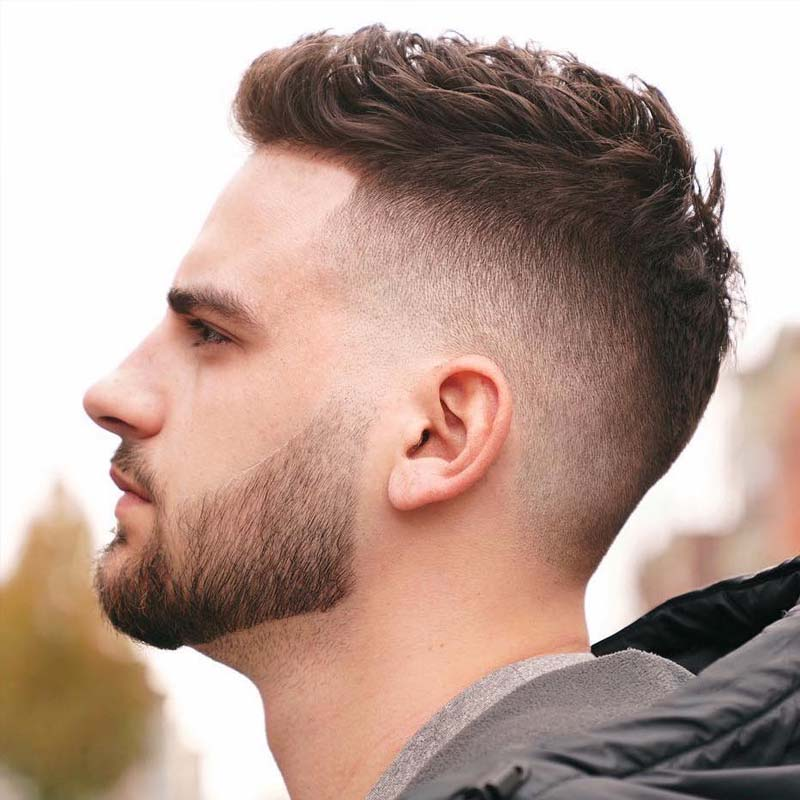 Best date night hairstyles for men - Crew Cut