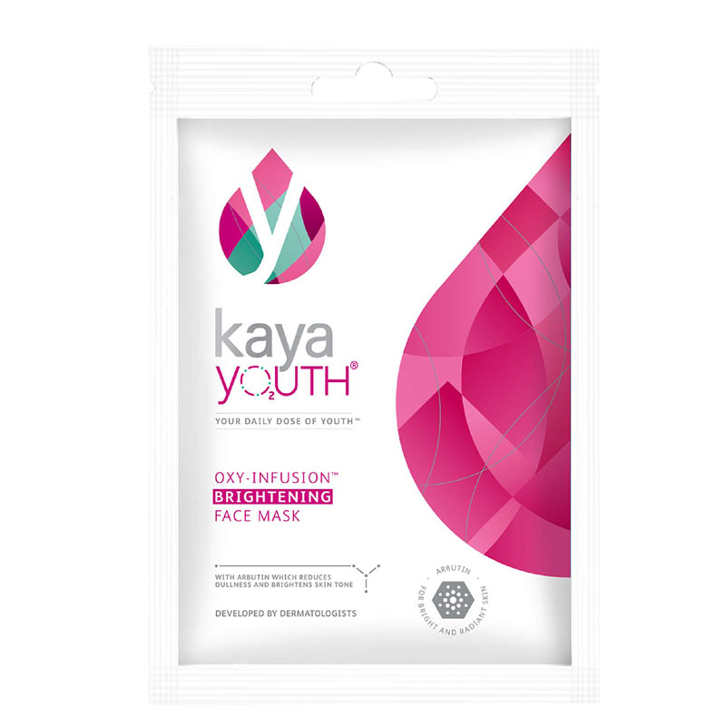 best sheet masks in India - Kaya Youth Oxygen Boost Brightening Face Mask