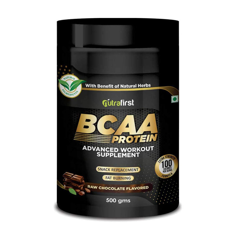 best plant-based BCAA powder - Nutrafirst BCAA With Whey Protein Isolate - Chocolate Flavor