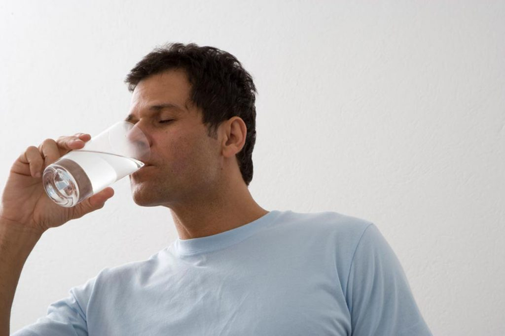 Staying hydrated can improve immunity