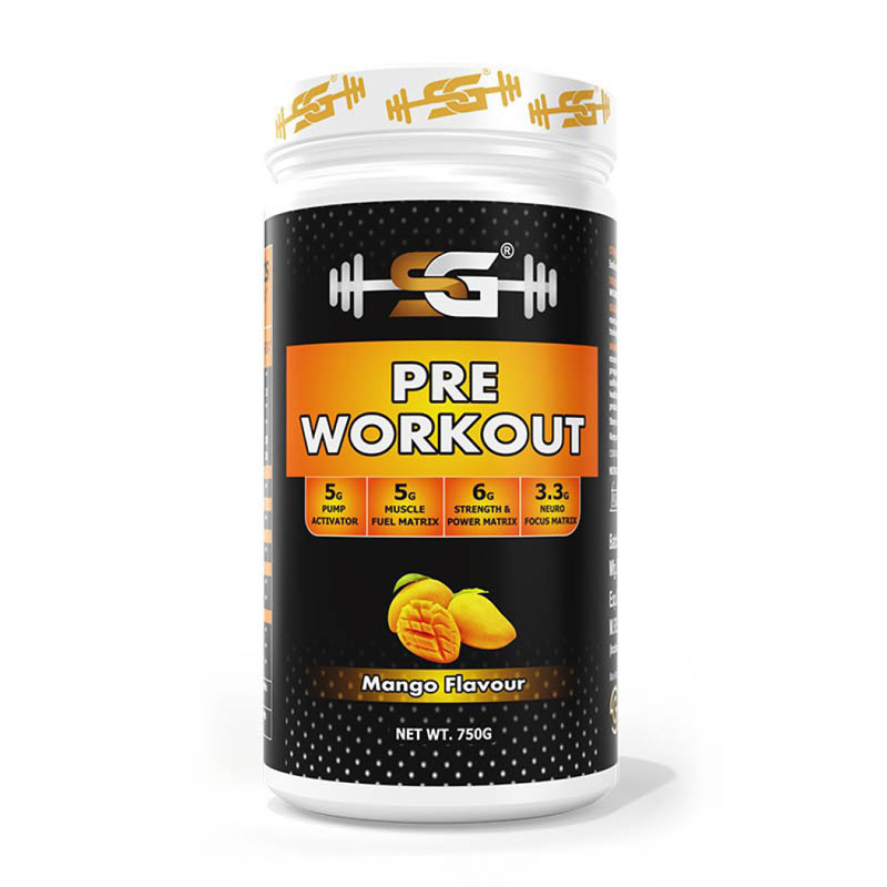 best organic pre-workout supplement in India