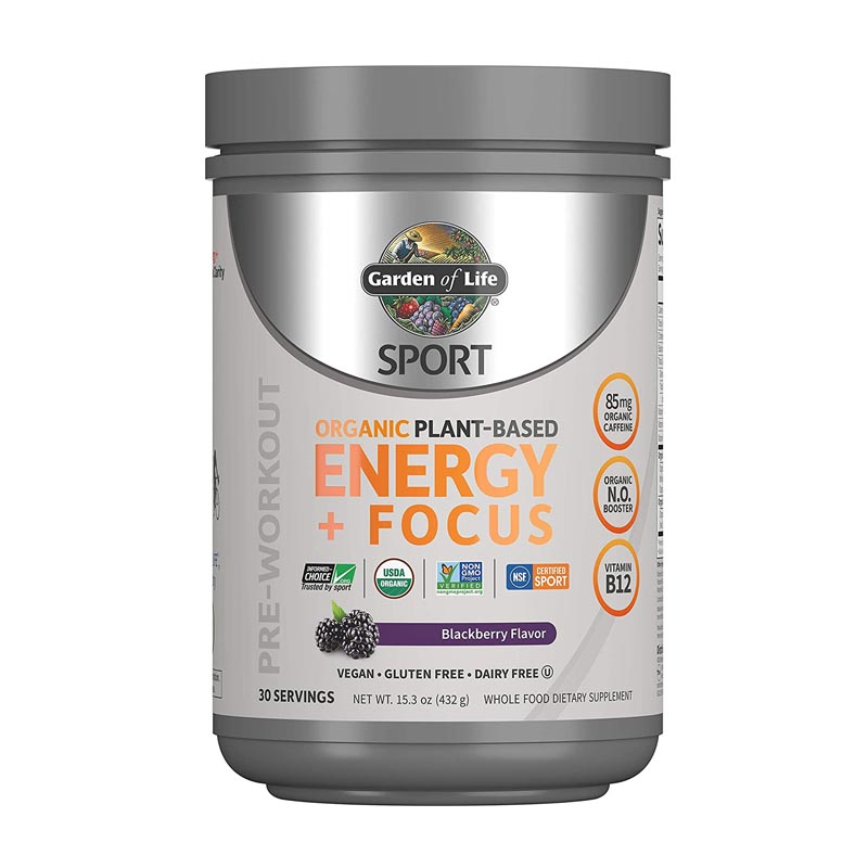 best plant-based pre-workout supplement in India