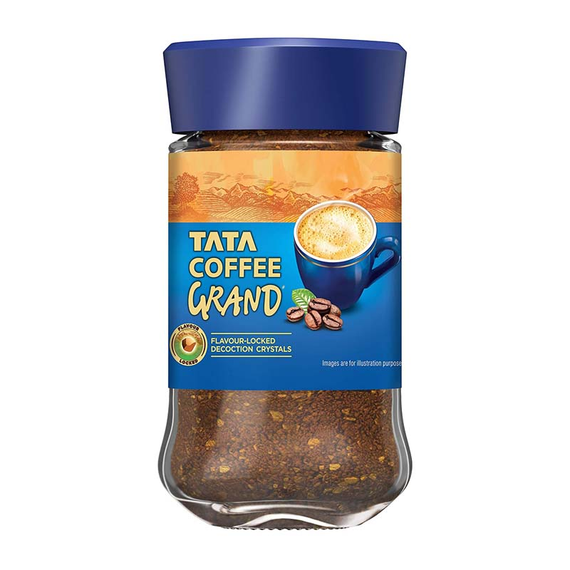 Best Black Coffee For Lose Weight - Tata Coffee Grand Instant Coffee Jar