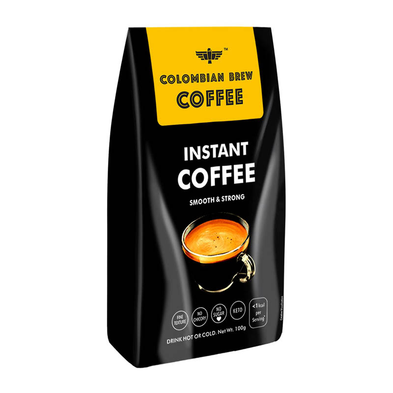 Colombian Brew Coffee Pure Instant Coffee Powder For Lose Weight
