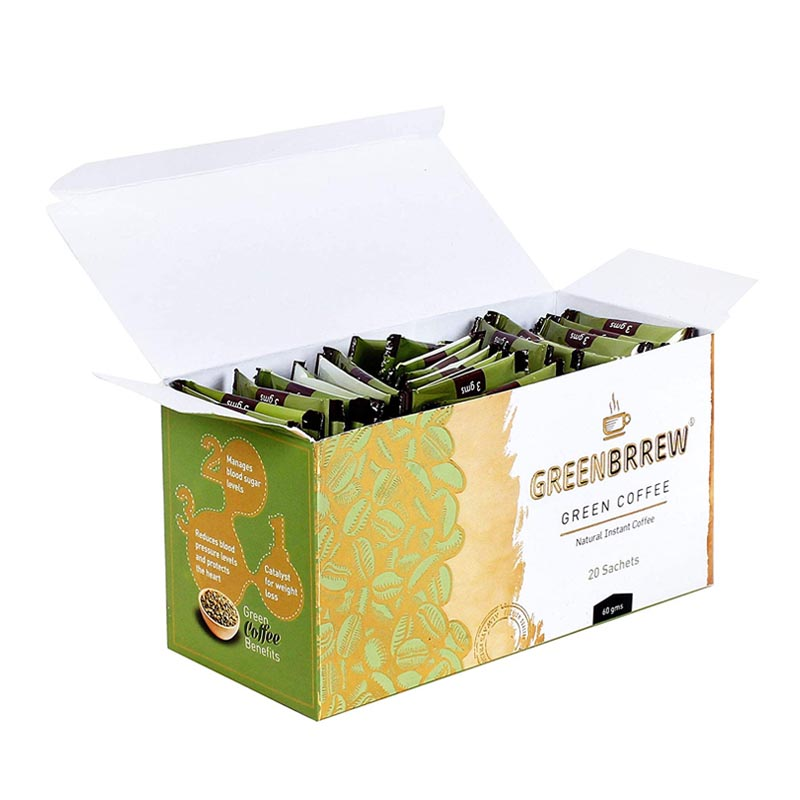 Greenbrrew Instant Green Coffee Premix For Weight Loss