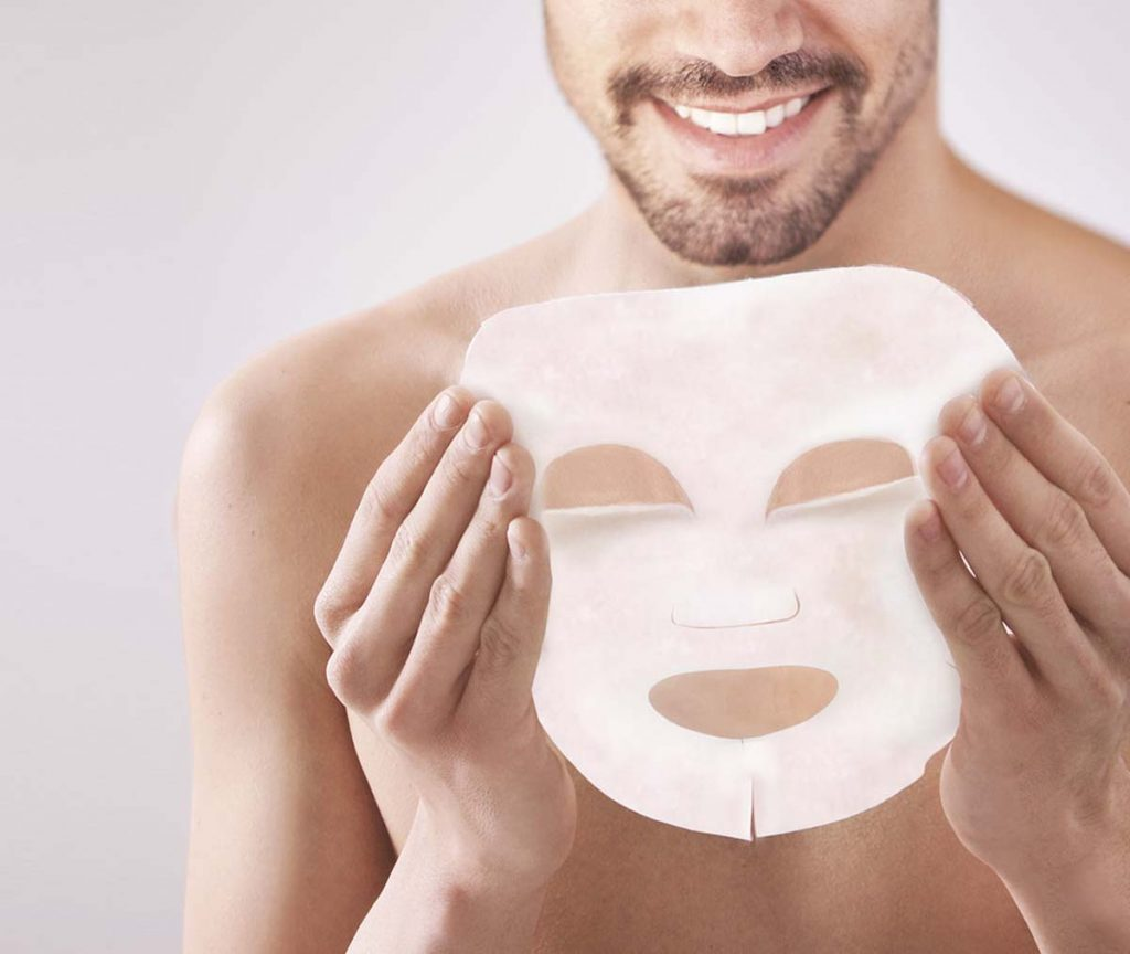How To Use A Sheet Mask Correctly For Men