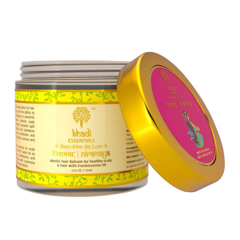 Khadi Essentials Methi Hair Growth Mask with For Dry, And Damaged Hair