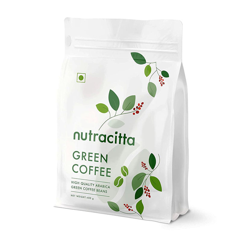 Nutracitta Arabica Green Coffee Beans For Weight Loss