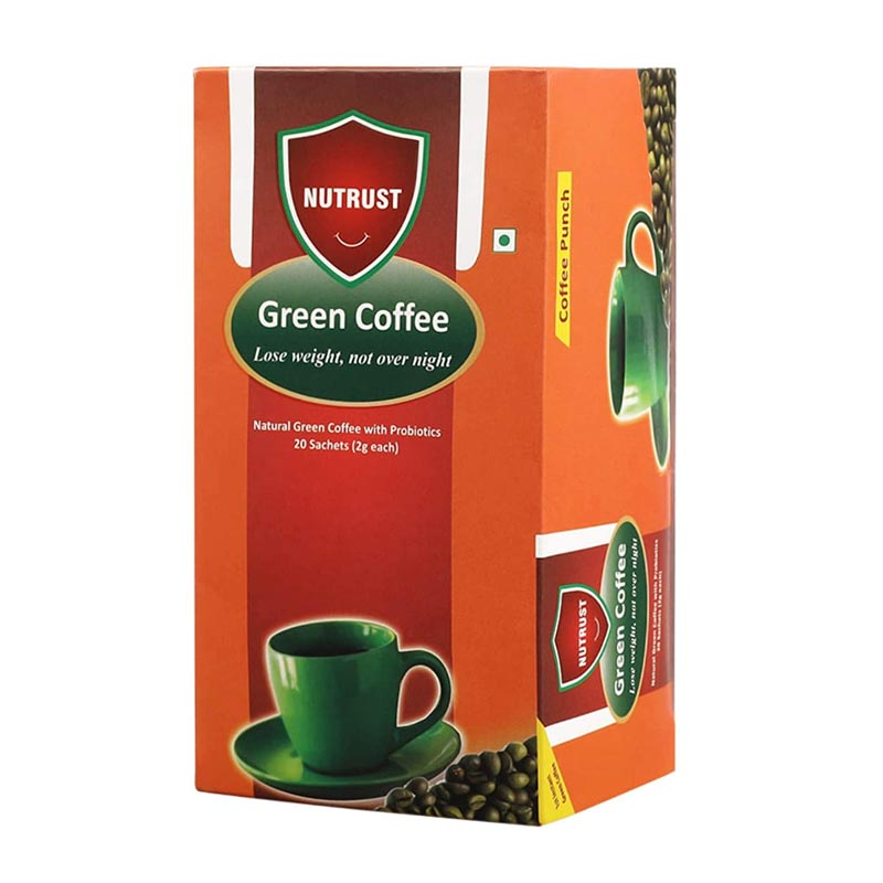 Nutrust Natural Green Coffee With Probiotics