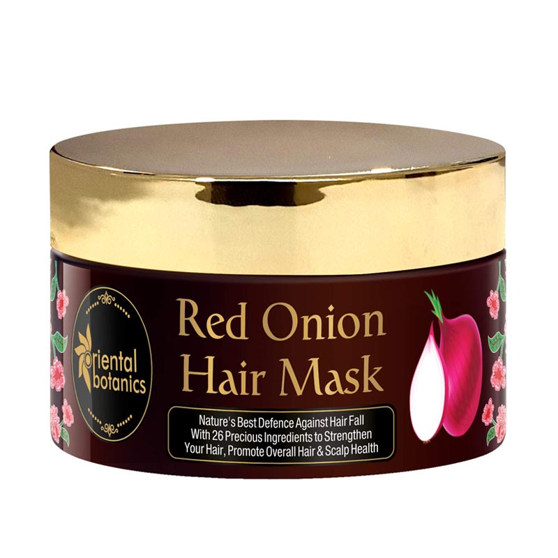 Oriental Botanics Red Onion Hair Mask With Red Onion Oil